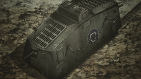ガールズ&パンツァー ドイツ 突撃戦車 A7V
