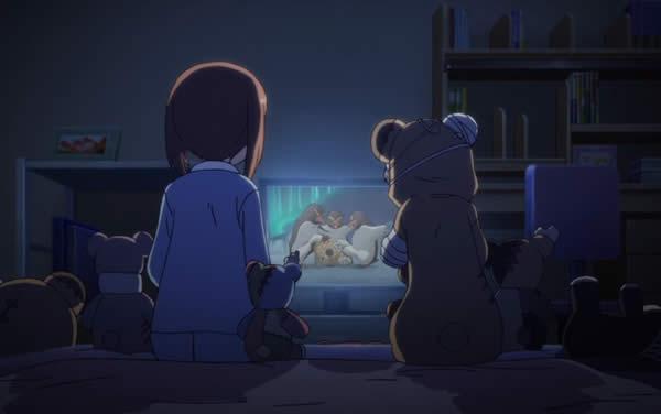ガールズ&パンツァー お蔵入りになったボコの秘蔵DVDを観る西住みほと島田愛里寿