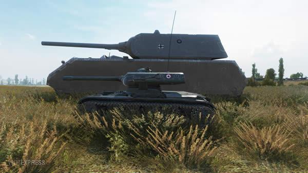WoT ELC EVEN 90 フランス Tier8 プレミアム車両 軽戦車 02