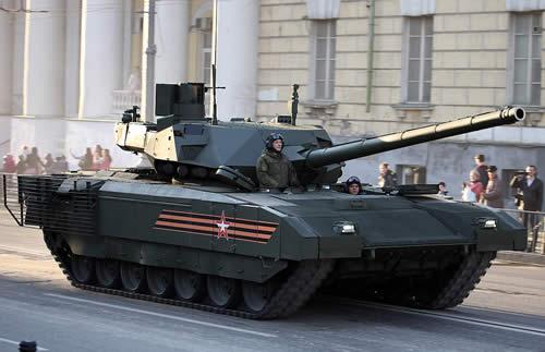 ロシア 主力戦車 アルマータT-14
