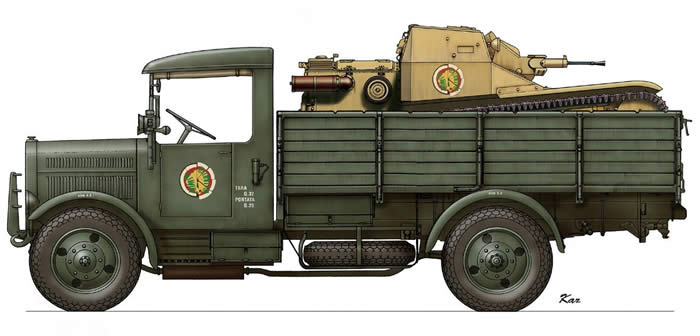 SPA38Rトラック CV33 イラスト 01
