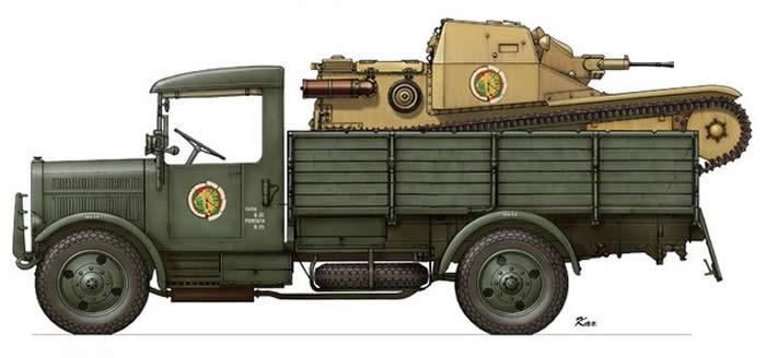 SPA38Rトラック CV33 イラスト 02