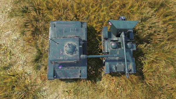 WoT ELC EVEN 90 フランス Tier8 プレミアム車両 軽戦車 05