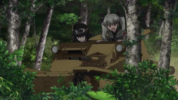 ガールズ&パンツァー CV33 アンチョビ ペパロニ