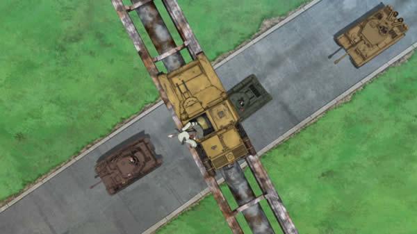 ガールズ&パンツァー CV33 アンチョビ GPS役ならまかしとけ!