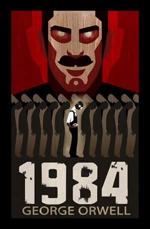 本 1984 George Orwell's