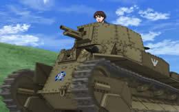 【ガルパン】戦車道にもハンデ戦があってもいいんじゃない?
