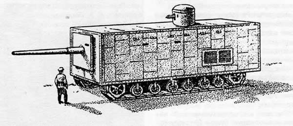 メンデレーエフ戦車 帝政ロシア