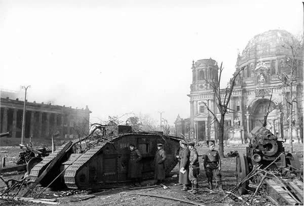 マーク IV 戦車 ベルリン攻防戦