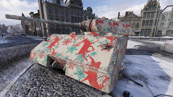 WoT クリスマス迷彩 06