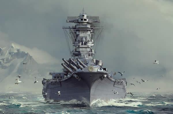 WoWS 戦艦 武蔵