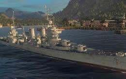 WoWS ニューオリンズ アメリカ Tier8 巡洋艦 サムネイル