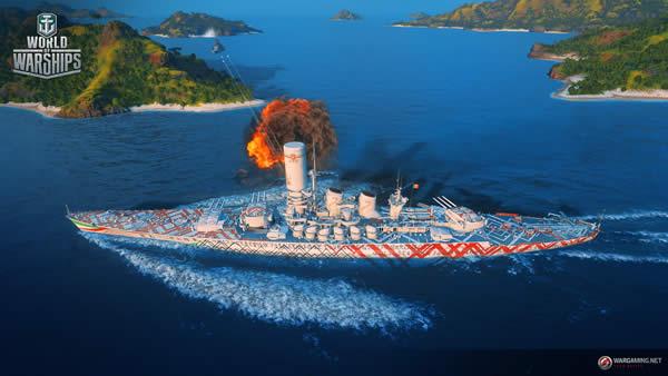 WoWS ローマ Tier8 プレミアム艦 TENGA