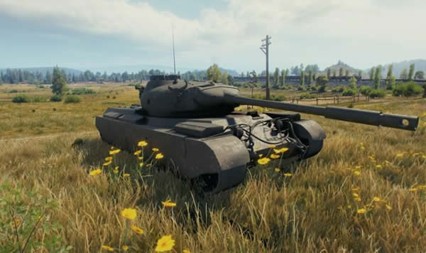 WoT Progetto M35 mod 46 Tier8 イタリア 中戦車 01