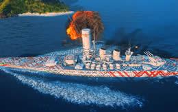 WoWS ローマ Tier8 プレミアム艦 TENGA サムネイル