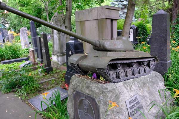 IS-2  墓石 戦車