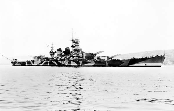 戦艦 ローマ イタリア