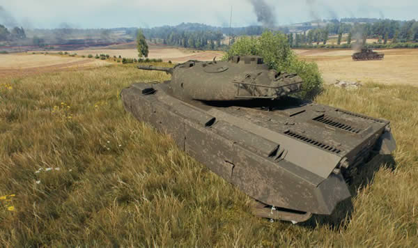 WoT Progetto M35 mod 46 Tier8 イタリア 中戦車 02