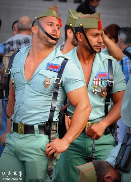 スペイン 外人部隊 胸元