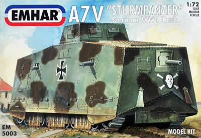 突撃戦車 A7V ドイツ