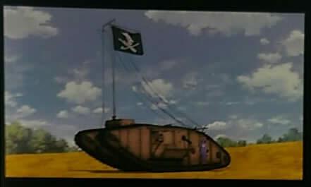 ガールズ&パンツァー 最終章 生コマフィルム マークⅣ 戦車 海賊旗