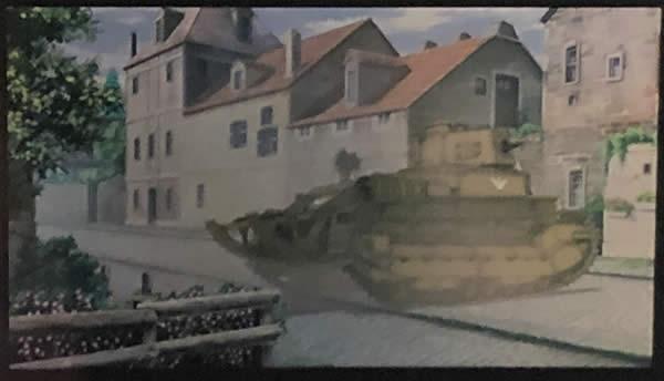 ガールズ&パンツァー 最終章 生コマフィルム 八九式中戦車
