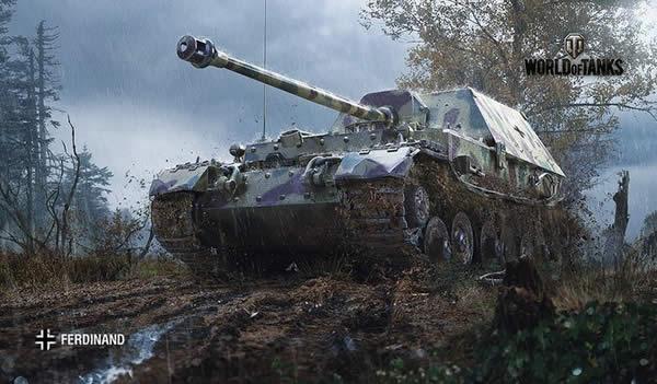 WoT フェルディナント ドイツ Tier8 駆逐戦車