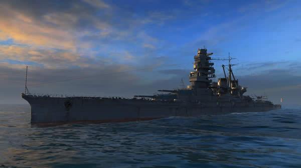 WoWS 金剛 日本 Tier5 戦艦
