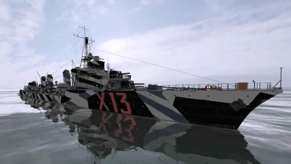 WoWS エーグル フランス Tier6 プレミアム駆逐艦