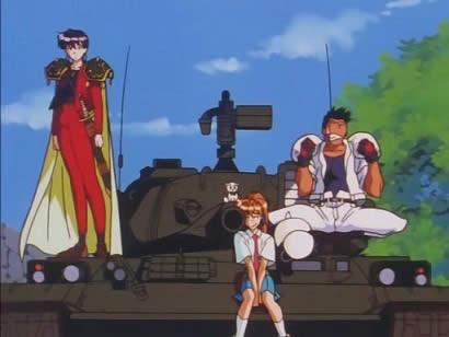 エルフを狩るモノたち ミケ 戦車