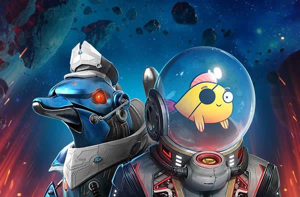 WoWS 宇宙船 イルカ 魚