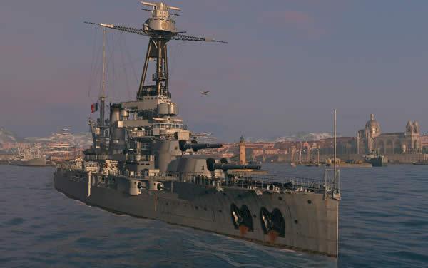 WoWS ブルターニュ Tier5 フランス戦艦