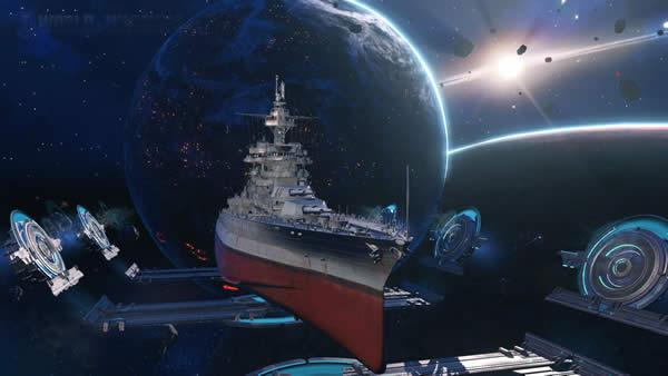 WoWS 宇宙戦艦コロラド