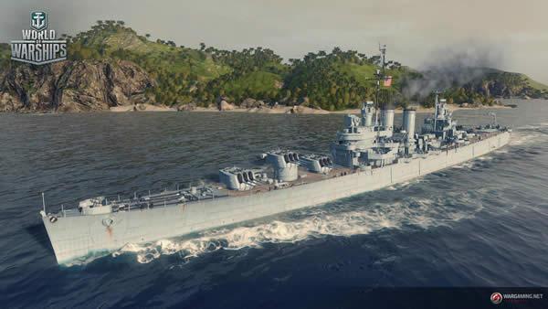 WoWS ボイシ アメリカ Tier7 巡洋艦