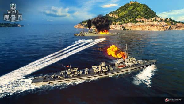 WoWS Z39 ドイツ Tier7 プレミアム駆逐艦