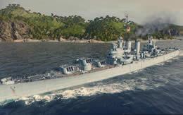 WoWS ボイシ アメリカ Tier7 巡洋艦 サムネイル
