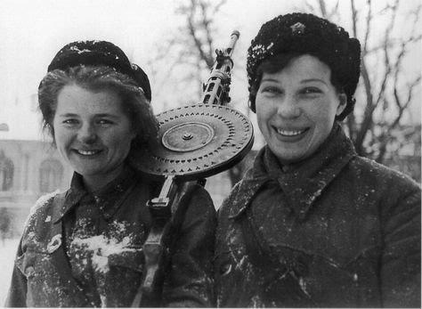 ソヴィエト ソ連 女性兵士