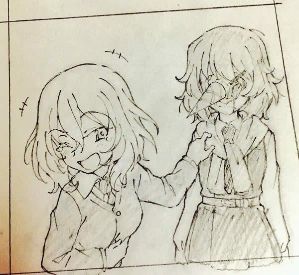 ガールズ&パンツァー 安藤 押田 アイスクリーム 02