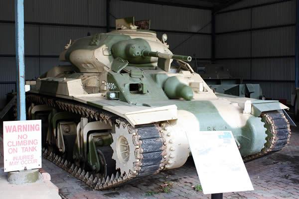 センチネル巡航戦車 モザイク版