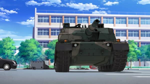 ガールズ&パンツァー 10式戦車