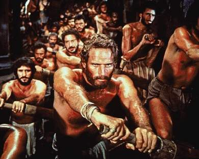 奴隷 船を漕ぐ