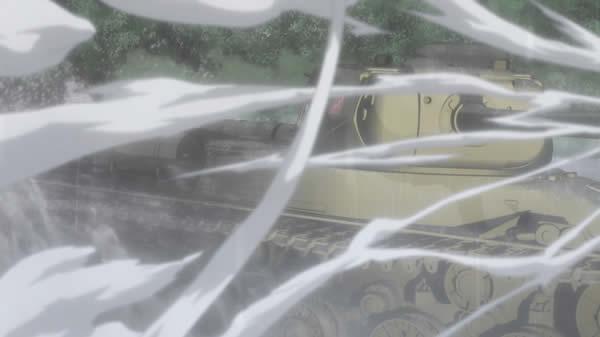 ガールズ&パンツァー IS-2 ノンナ車 ターン砲撃