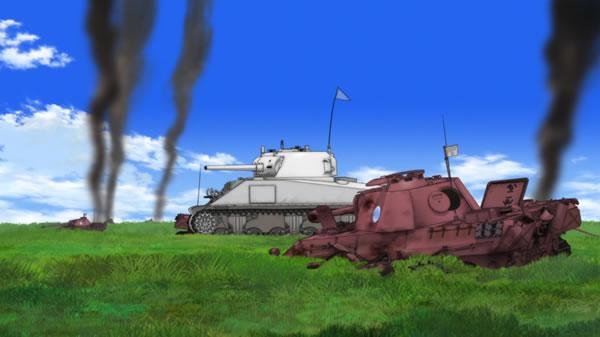 ガールズ&パンツァー M4 シャーマン 島田愛里寿車 パンター