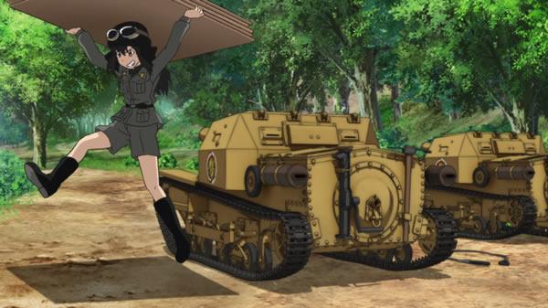ガールズ&パンツァー CV33 マカロニ作戦