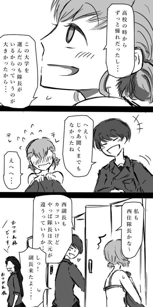 ガールズ&パンツァー 漫画 西絹代 02