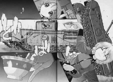 ガールズ&パンツァー ダージリン 紅茶こぼさない チャーチルⅦ オレンジペコ 漫画