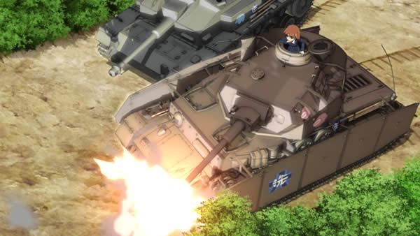 ガールズ&パンツァー 最終章 第2話  4号戦車 3号突撃砲