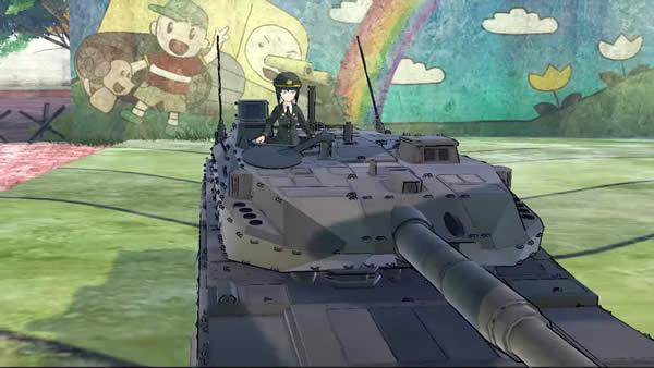 ガールズ&パンツァー ドリームタンクマッチDX 10式戦車