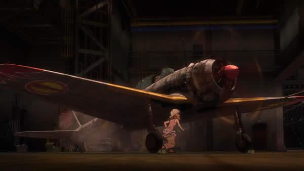 荒野のコトブキ飛行隊 一式戦闘機 隼