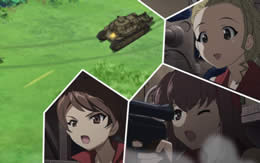 【ガルパン】機銃手って戦車道で役に立つの?
